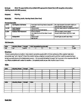 IEP Complete Program Data