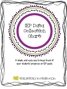 IEP Data Collection Chart