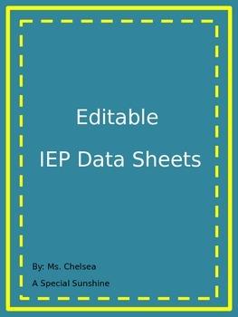 IEP Data Sheets