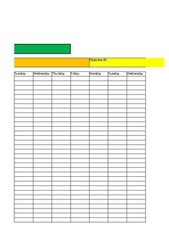 IEP Data Tracking Form-Year View