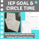 IEP EDITABLE GOAL DATA FORM & CIRCLE TIME DATA FORM SPECIAL EDUCATION