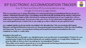 IEP Electronic Accommodations