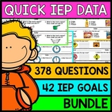 IEP Goal Assessments - PRINT & GO - Special Education - Life Skills - BUNDLE