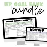 IEP Goal Bank ELA Bundle | Common Core Aligned