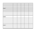 IEP Goal Checklist