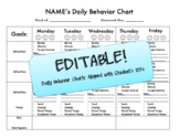 IEP Goal Daily Chart