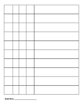 IEP Goal Data Sheet Pack - receptive language, social interaction,  transitions
