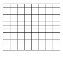 IEP Goal Data Sheets -  self-advocacy, work habits, conversational skills