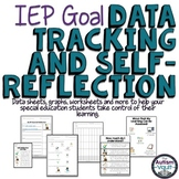 IEP Goal Data Tracking and Self-Reflection Kit for Special