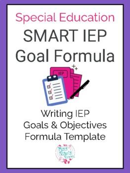 IEP Goal Formula Template Guide
