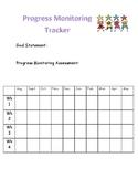IEP Goal Progress Monitoring Data Sheet