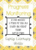IEP Goal Progress Monitoring: Early Literacy Skills