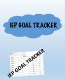 IEP Goal Progress Tracker (Monthly)