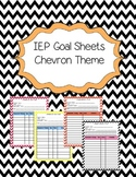 IEP Goal Sheets in Chevron