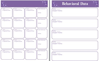 IEP Goal Tracker for Teacher Planner