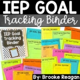 IEP Goal Tracking Binder- Data Collection for Special Education {Data Sheets}