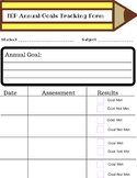 IEP Goal Tracking/Progress Monitoring Form
