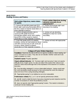 IEP Goal Writing Guide