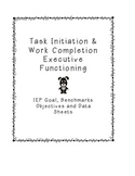 IEP Goal for Executive Functioning (Task Initiation & Work Completion)
