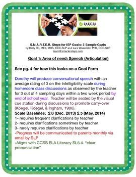 IEP Goals: 3 SMARTER IEP Goal Samples