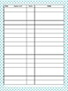 IEP Goals Tracking Form