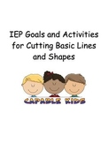IEP Goals and Activities for Beginning Cutting