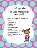 IEP Goals and Objectives - 1st Grade