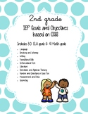 IEP Goals and Objectives - 2nd Grade