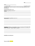 IEP Input Forms for Parents and Teachers- Simple, Easy & EDITABLE!