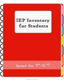 IEP Inventory for Students