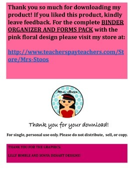 IEP MEETING DUE DATE FORM FREEBIE!