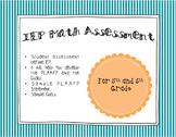 IEP Math Assessment
