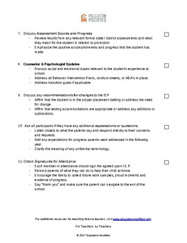 IEP Meeting Guide (Free!)
