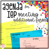 IEP Meeting Papers & Forms for Before, During & After the Meeting