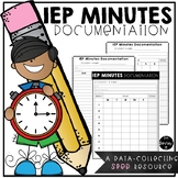 IEP Minutes Documentation Forms
