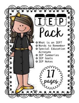 IEP Pack
