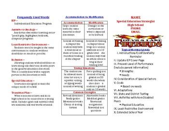 IEP Parent Brochure