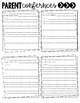 Teacher Binder Forms, IEP, Conferences, Notes, Lesson Plans, To do & More