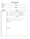 IEP/REED Planning Sheet gr. 3-5 (editable)