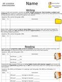 IEP Progress Check Forms- Editable