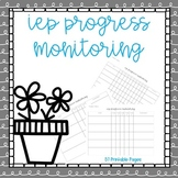 IEP Progress Monitoring
