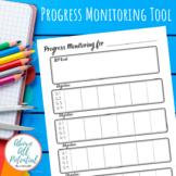 IEP Progress Monitoring Tool