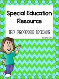 IEP Progress Tracker