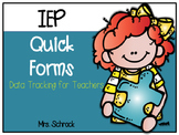 IEP Quick Forms