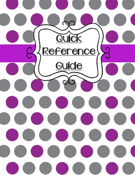 IEP Quick Reference Guide