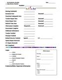 IEP & RR Checklist