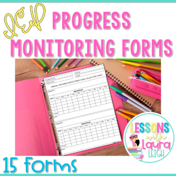 IEP Data Collection & Progress Monitoring Forms