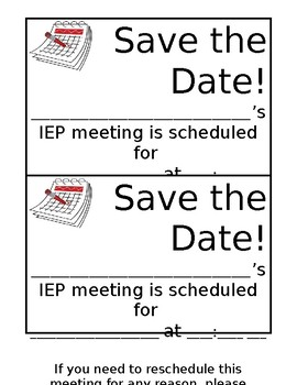 IEP Save the Date