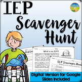 IEP Scavenger Hunt - Distance Learning