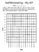 IEP Self-Monitoring Data Sheet